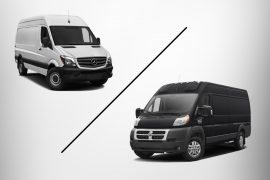 Review of Sprinter vs ProMaster Cargo Van